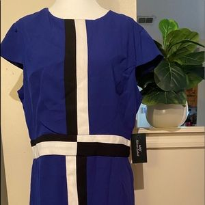 ABS silver label dress Blue Size 14